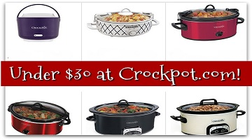 Crock-Pot : Under $30 Plus BOGO 50% Off & Free Shipping!