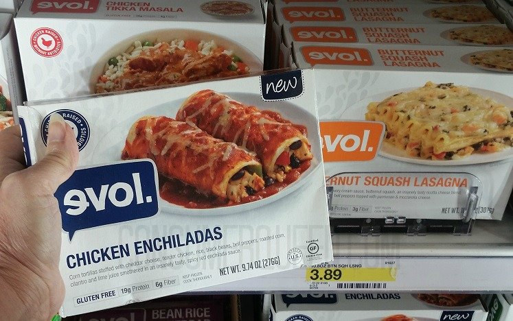 $1.00/1 Any EVOL Coupon + Target Deals (as Low as 99¢!)
