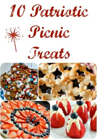10 Patriotic Picnic Treats