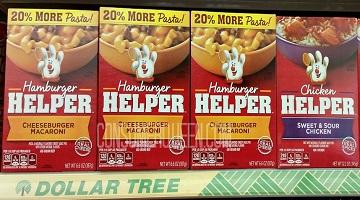 General Mills Coupons Reset + Deals on Hamburger Helper, Suddenly Salad & More!!