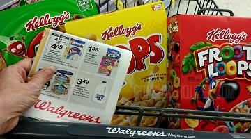 Kelloggs Cereals ONLY $1.28 at Walgreens This Week!