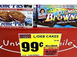 Little Debbie Snacks 99¢ (Possibly 44¢) at Crest Foods!