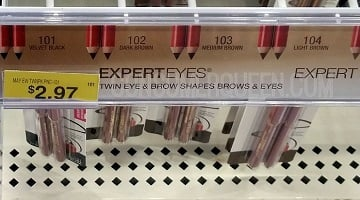 Maybelline ExpertEyes Brow Pencils 97¢ at Walmart!