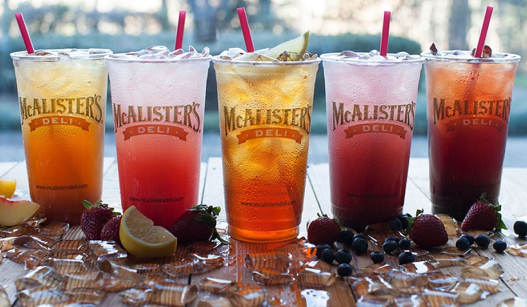 tea at McAlisters