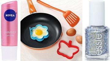 Nivea Lip Care $1, Silicone Pancake & Egg Molds $2 + More at Hollar!