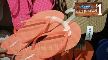 Old Navy Flip Flops Only $1.00 – Coming This Month For Cardholders!