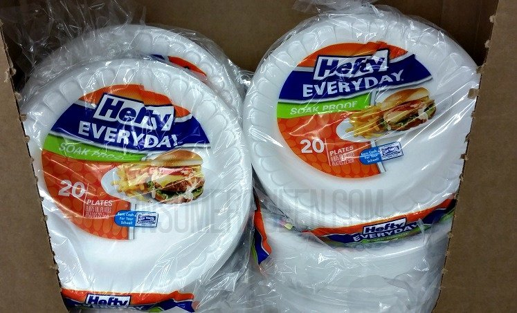 Pin & Save on Paper Products at Dollar Tree: Hefty Plates Glad Bounty ...
