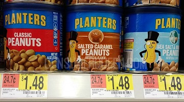 Planters Peanuts for Under $1.00 at Walmart!