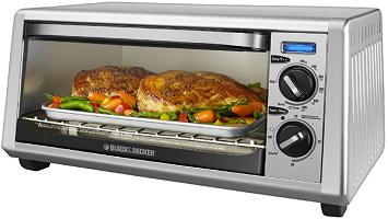 Black & Decker 4-Slice Toaster Oven Only $19.99 (Reg. $49.99) at Best Buy!