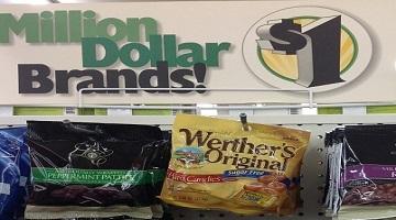 New .75/1 Werther's Original Sugar Free = 25¢ at Dollar Tree!