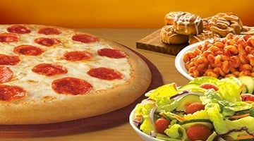 Now Through Sunday Kids Eat Free at Ci Ci's Pizza!
