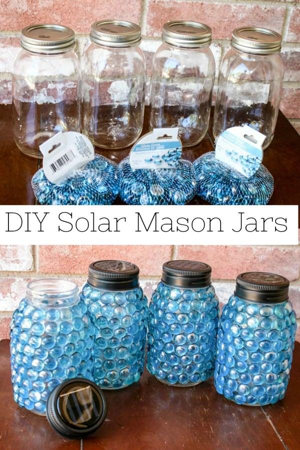 DIY Solar Mason Jars Pinterest