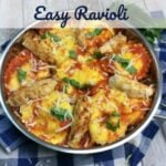Easy Ravioli with Cajun Chicken