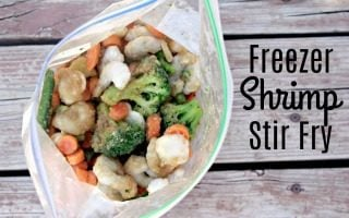 Freezer Shrimp Stir Fry