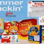 General Mills Cereals, Yoplait & More 72¢ Each at Target!