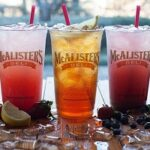Today's The Day:  FREE Tea at McAlisters Deli!
