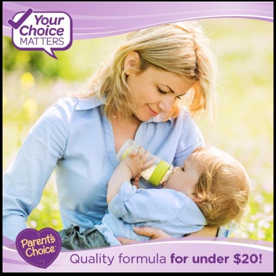 See Savings with Parent's Choice Formula at Walmart
