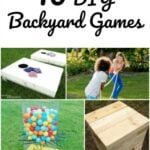 10 DIY Backyard Games