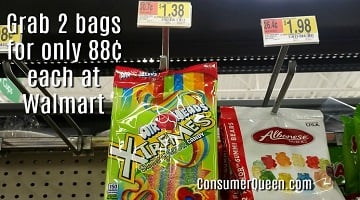 Airheads Candy Bags ONLY 88¢ at Walmart, 83¢ at Target With New Printable!