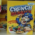 Cap'n Crunch Cereal 50¢ at Dollar Tree With New $1.00/2!