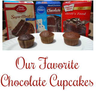 Our Favorite Chocolate Cupcakes