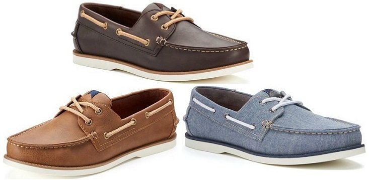 ac1d47a9565 Men s Sonoma Lace-Up Boat Shoes  27.19 (reg.  69.99) at Kohl s!