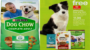 Purina Dog Chow 18.5 -lb. Bags $5.89 After Gift Card at Target!