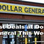 Top 10 Unadvertised Dollar General Deals