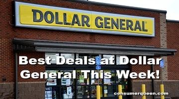 Top 10 Unadvertised Dollar General Deals 11/9