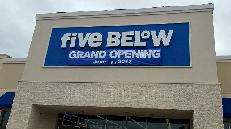picture regarding Five Below Printable Coupons referred to as 5 Underneath Grand Opening within OKC - Reward Card Giveaway!