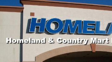 Homeland & Country Mart Matchups 8/23 – 8/29