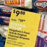 Lowes: Kingsford Charcoal 2 Packs of 18.6LB Bags For $9.88 Thru 7-5!