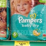Pampers Jumbo Pack Diapers ONLY $5.48 at Crest Foods!