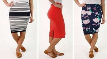 Pencil Skirts 40% Off + More Today Only at Cents of Style!