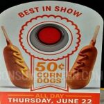 Get Ready 50¢ Corn Dogs at Sonic All Day June 22!