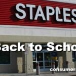 Staples Back to School Deals For Week of 8/19 – 8/25