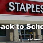 Staples Back to School Deals For Week of 8/26 – 9/1