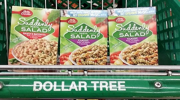 New Dollar Tree Finds: 25¢ Suddenly Salad, 50¢ Air Wick & More!