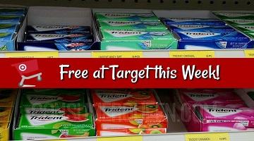 Trident Gum : 3 Packs FREE at Target After Cartwheel!