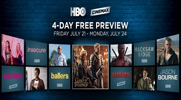Free HBO and Cinemax This Weekend for Many – Fire Up the DVR!