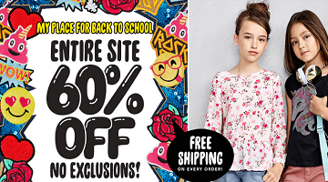 School Uniforms 60% Off + FREE Shipping at The Children's Place!