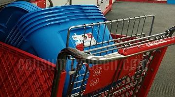 Staples Bella 18 Gallon Plastic Tote ONLY $4 (reg. $7.99!)