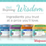 Well Beginnings Wisdom with Walgreens!