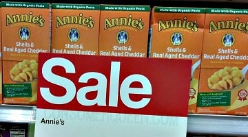 Annie's Organic Mac & Cheese ONLY 50¢ at Target!
