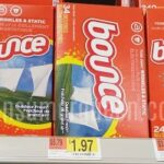 Bounce Dryer Sheets 34-ct. 97¢ at Walmart After Coupon!