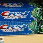 Crest Toothpaste 33¢ Each at CVS After Rewards