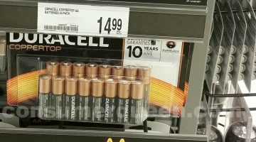 Duracell Batteries 16-ct AA ONLY 1¢ After Office Depot Rewards!