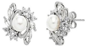 Kohl's: Stunning Freshwater Pearl Earrings $38.70 (Reg. $175.00)