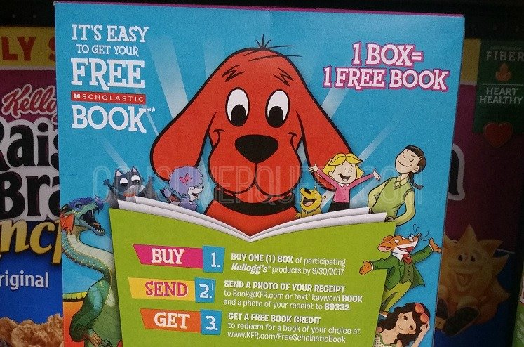 Score Up to 90 FREE Books WYB Kellogg's at Walmart!