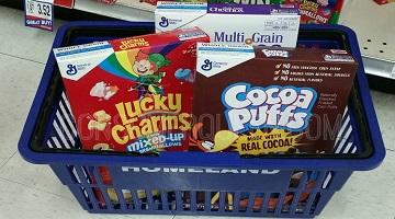 GM Cereals $1.50 + FREE Milk wyb 4 at Homeland Next Week!